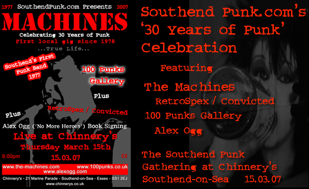SouthendPunk.com's Celebration of 30 Years of Punk - 15.03.07