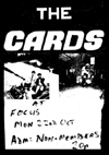 The Cards - Live at Focus - Poster