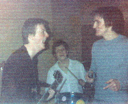 The Convicted - Early line Up - Mark Harvey, John Dee and Paul Eves
