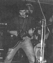 The Decibels - Gary Clarke on Guitar - Live at The Zero 6, 1979