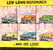"Lew Lewis Reformer - 'Win Or Lose' - 7"" Single - 1979"