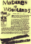 The Machines - Live at Woodlands - 11.01.78 - Gig Review from Strange Stories #4 - 1978