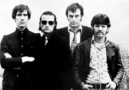 Dr Feelgood - Promo Photo (L-R: Wilko, The Big Figure, Lee Brilleaux & Sparko)