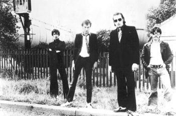 Dr Feelgood - Promo Photo (L-R: Wilko, Lee Brilleaux, The Big Figure & Sparko)