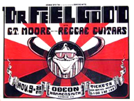 Dr. Feelgood - Live at The Hammersmith Odeon - Poster