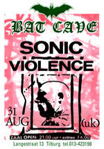 Sonic Violence - Live Poster