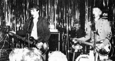 Speedball - Live at The Lindisfarne in Southend - 1979 - Photograph courtesy of Strange Stories